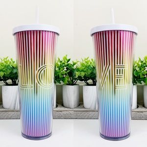 Starbucks LOVE Rainbow Summer 2019 Venti Tumbler